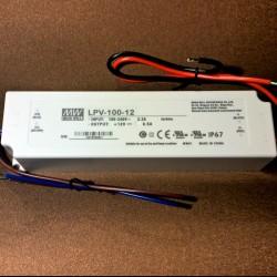 Led adapter 100W 12V